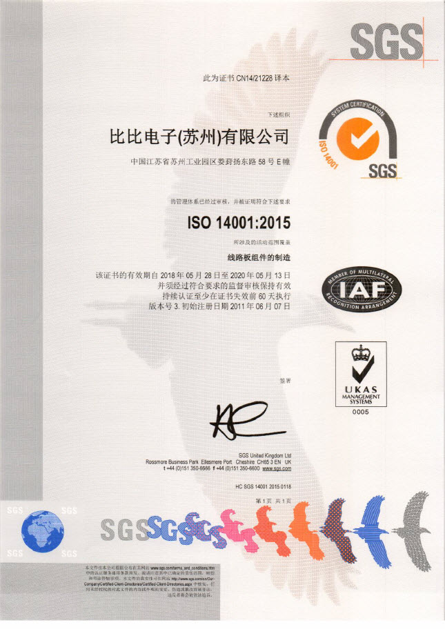 Certificates & Standards